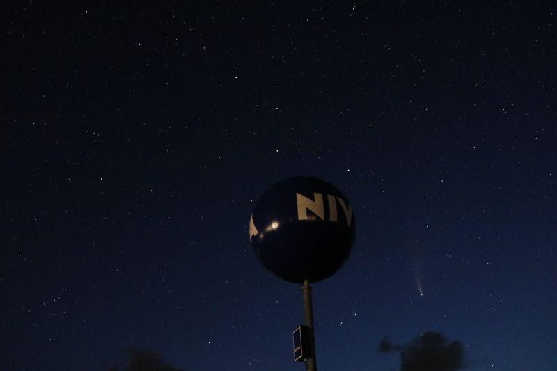 Dornumersiel Nivea Ball Kugel Komet C/2020 F3 Neowise