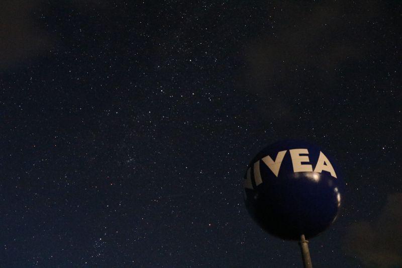 Dornumersiel Nivea Ball Kugel Sternenhimmel Cassiopeia