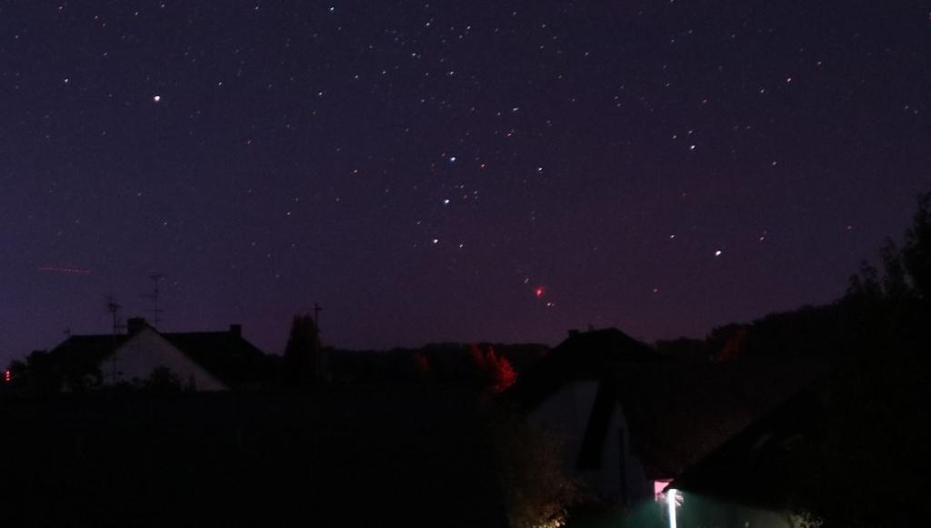 Orion Nebel Nachthimmel Ausschnitt